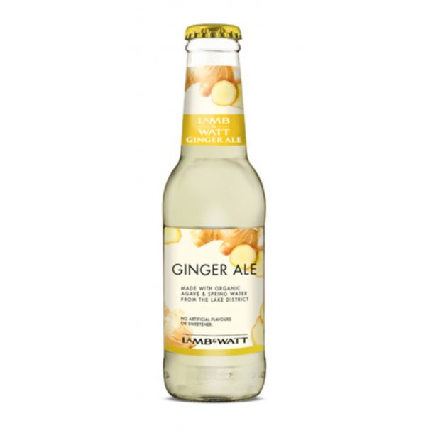 Lamb & Watt Tonic 12 stk - (Ginger Ale 200 ml)