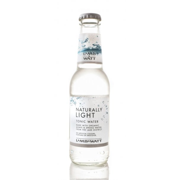 Lamb & Watt Tonic 12 stk - (Naturally Light Tonic 200 ml)