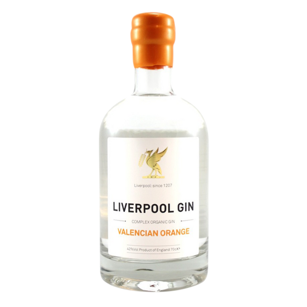 Liverpool Organic Gin Valencian Orange 43%