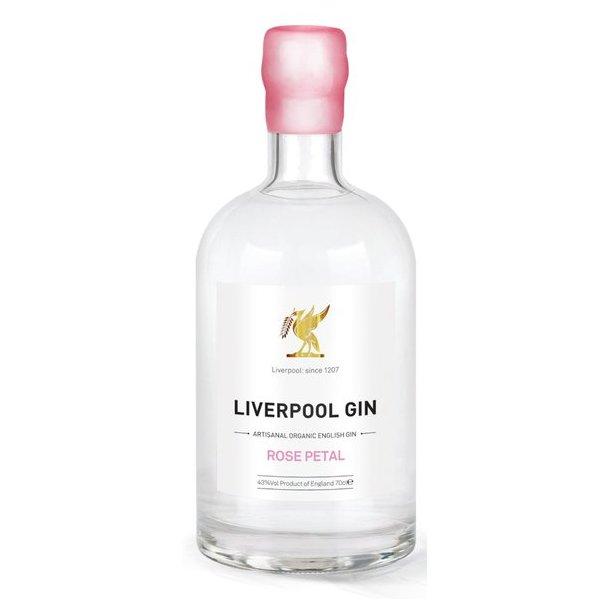 Liverpool Organic Gin Rose Petal