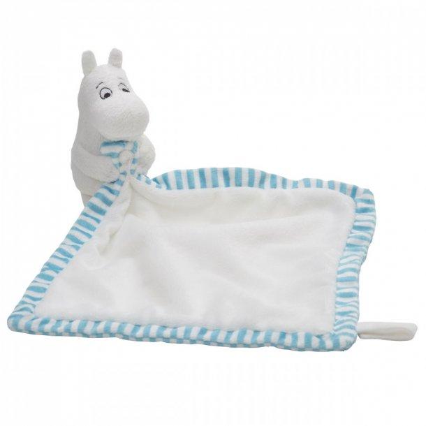 RättStart Mumi Nusseklud til baby - hvid og lyseblå