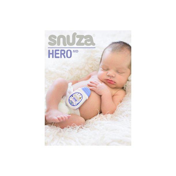 Snuza Hero Babyalarm, Abnøalarm