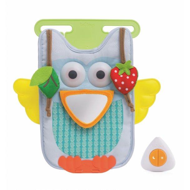 Taf Toys Musical Owl Aktivitetslegetøj til bilen