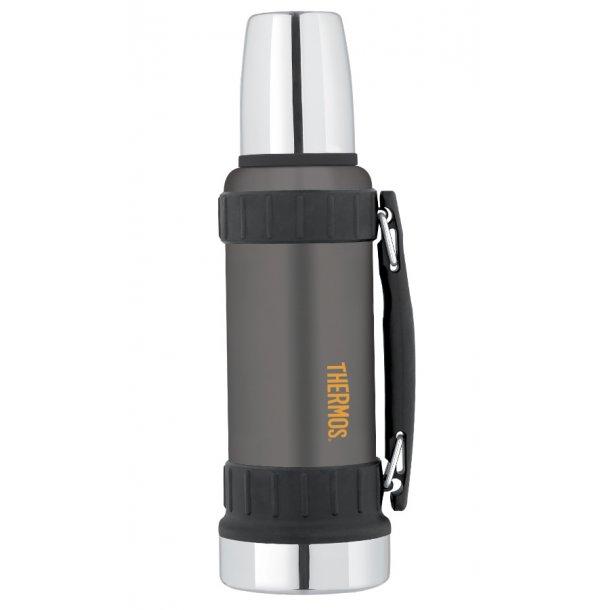Thermos Work Termoflaske 1,2 liter - rustfri stål grålakeret