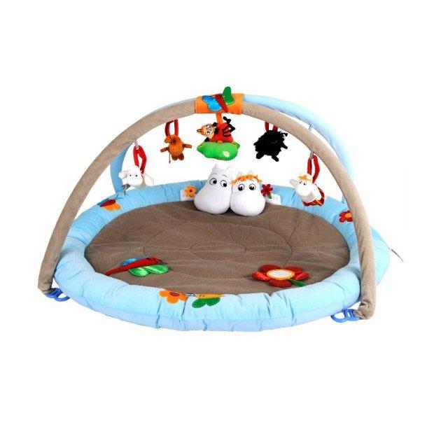 RättStart Mumi Aktivitetstæppe til baby / Babygym Ø 90 cm